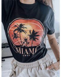 Κοντομάνικο μπλουζάκι - κώδ. 175 - 2 - μαύρο