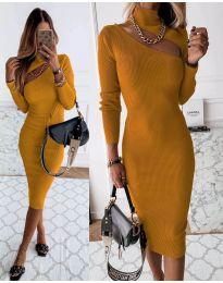 Φόρεμα - κώδ. 149 - μουσταρδί