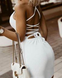 Φόρεμα - κώδ. 7391 - λευκό