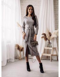 Φόρεμα - κώδ. 9010 - γκρι
