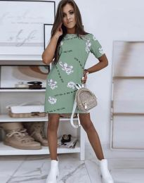 Φόρεμα - κώδ. 2906 - πράσινο