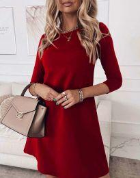 Φόρεμα - κώδ. 8201 - κόκκινο