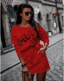 Φόρεμα - κώδ. 274 - κόκκινο