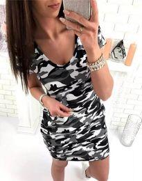 Φόρεμα - κώδ. 2533 - 1 - πολύχρωμο