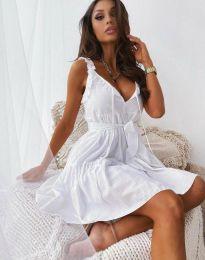 Φόρεμα - κώδ. 0710 - 3 - λευκό