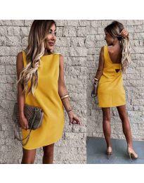 Φόρεμα - κώδ. 1156 - μουσταρδί