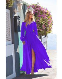 Φόρεμα - κώδ. 8477 - μωβ