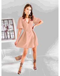 Φόρεμα - κώδ. 0807 - πούδρα