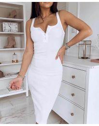 Φόρεμα - κώδ. 3180 - λευκό