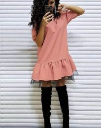 Φόρεμα - κώδ. 2856 - ροδακινί