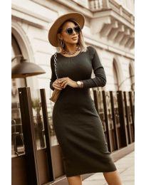 Φόρεμα - κώδ. 8485 - μαύρο
