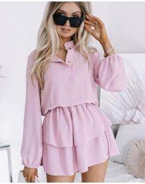 Φόρεμα - κώδ. 4093 - ροζ