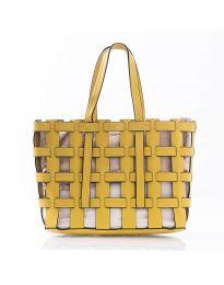 Τσάντα - κώδ. LS563 - κίτρινο