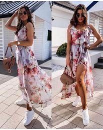 Φόρεμα - κώδ. 0041 - λευκό