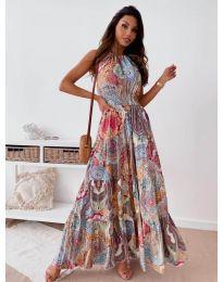Φόρεμα - κώδ. 2675 - πολύχρωμο
