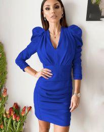 Φόρεμα - κώδ. 7937 - μπλε