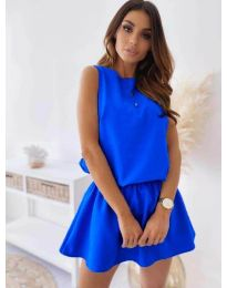 Φόρεμα - κώδ. 477 - μπλε