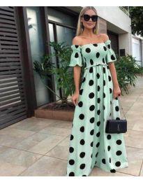 Φόρεμα - κώδ. 1140 - πράσινο
