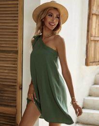 Φόρεμα - κώδ. 7003 - λαδί