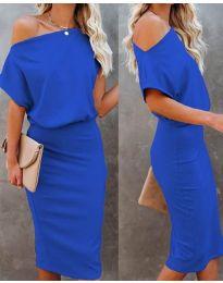 Φόρεμα - κώδ. 1737 - μπλε