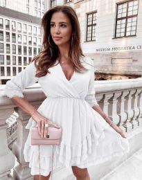 Φόρεμα - κώδ. 0545 - λευκό