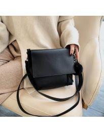 Τσάντα - κώδ. B23-5977 - μαύρο