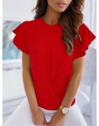 Κοντομάνικο μπλουζάκι - κώδ. 515 - κόκκινο