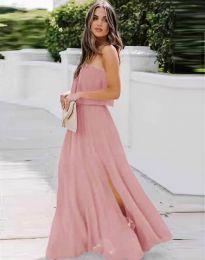 Φόρεμα - κώδ. 8871 - ροζ