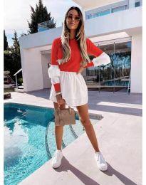 Φόρεμα - κώδ. 5024 - 8 - κόκκινο