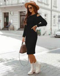 Φόρεμα - κώδ. 8203 - μαύρο