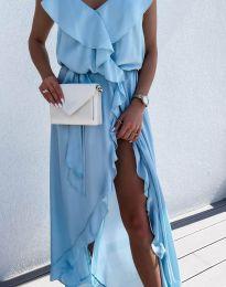 Φόρεμα - κώδ. 6432 - γαλάζιο
