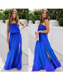 Φόρεμα - κώδ. 061 - σκούρο μπλε