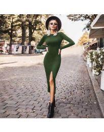 Φόρεμα - κώδ. 4177 - πράσινο
