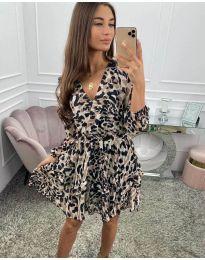 Φόρεμα - κώδ. 8815 - πολύχρωμο