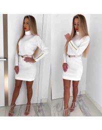 Φόρεμα - κώδ. 1788 - λευκό