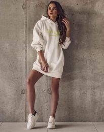 Φόρεμα - κώδ. 11604 - λευκό