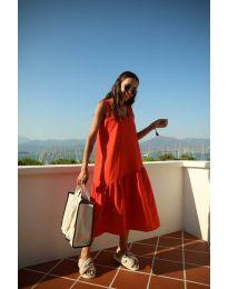 Φόρεμα - κώδ. 8810 - κόκκινο
