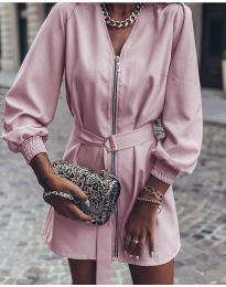 Φόρεμα - κώδ. 820 - ροζ