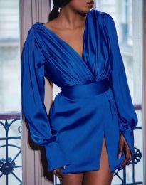 Φόρεμα - κώδ. 5324 - σκούρο μπλε