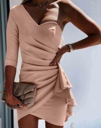 Φόρεμα - κώδ. 5543 - πούδρα