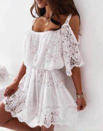 Φόρεμα - κώδ. 6954 - λευκό