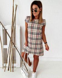 Φόρεμα - κώδ. 91422 - μπεζ
