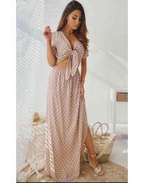 Φόρεμα - κώδ. 735 - ροζ