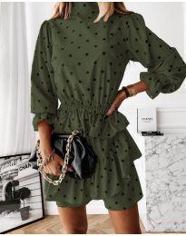 Φόρεμα - κώδ. 3665 - χακί