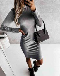 Φόρεμα - κώδ. 9368 - γκρι