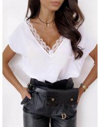 Κοντομάνικο μπλουζάκι - κώδ. 433 - λευκό