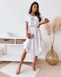 Φόρεμα - κώδ. 11893 - λευκό