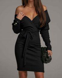 Φόρεμα - κώδ. 4765 - μαύρο