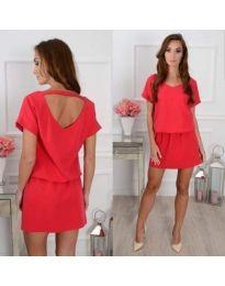 Φόρεμα - κώδ. 382 - κόκκινο