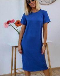 Φόρεμα - κώδ. 81800 - 1 - μπλε